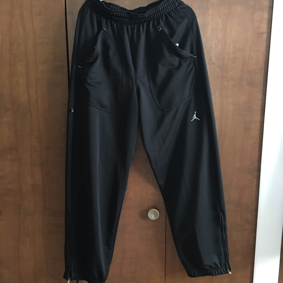 Micheal Jordan workout pants. M 5b4bb0b24ab633891f478528 9b0dbde5d737
